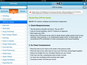 ph webmd for ipad